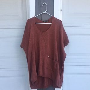 Sweater Slouch Boho Top